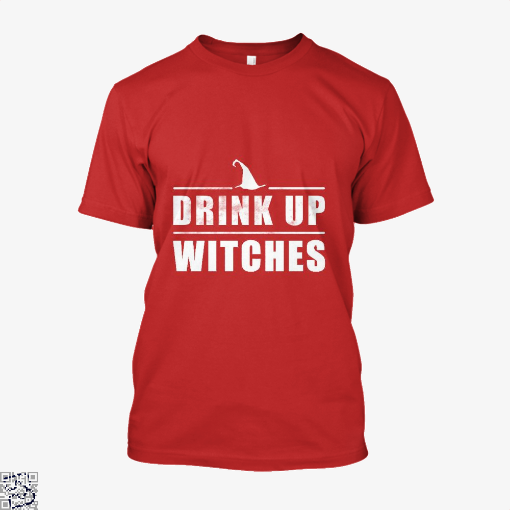 Drink Up Witches Halloween Gift Shirt - Men / Red / X-Small - Productgenjpg