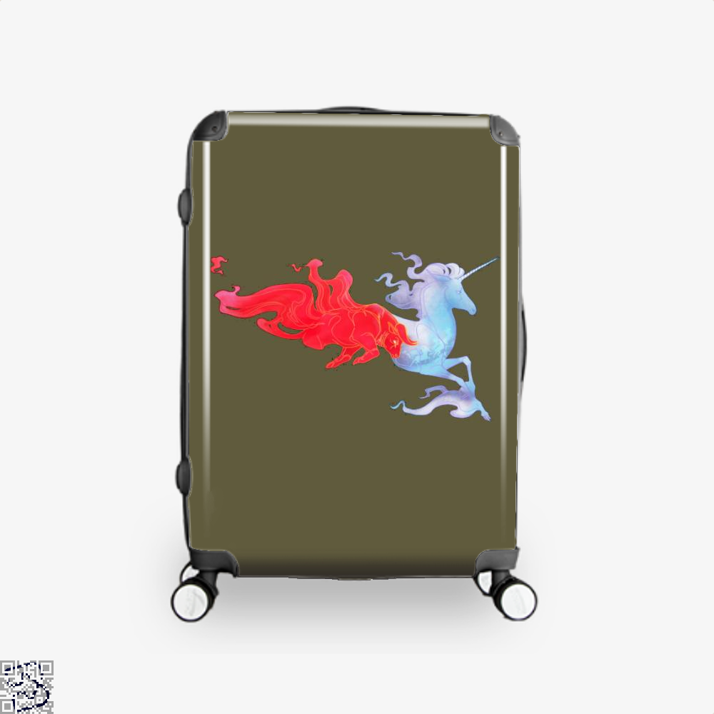 Driven By Fire Horse Suitcase - Brown / 16 - Productgenjpg