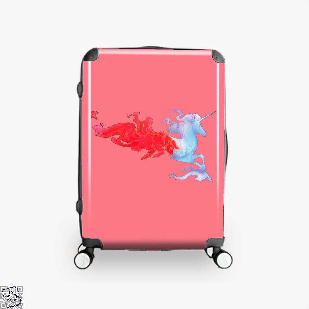 Driven By Fire Horse Suitcase - Pink / 16 - Productgenjpg