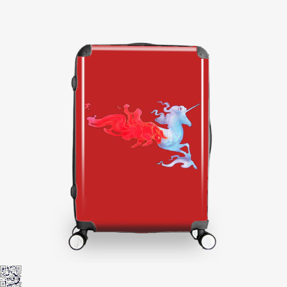 Driven By Fire Horse Suitcase - Red / 16 - Productgenjpg