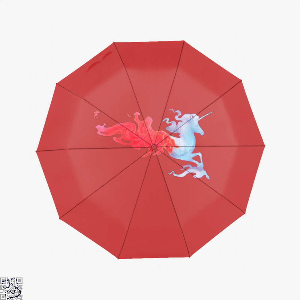 Driven By Fire Horse Umbrella - Red - Productgenjpg