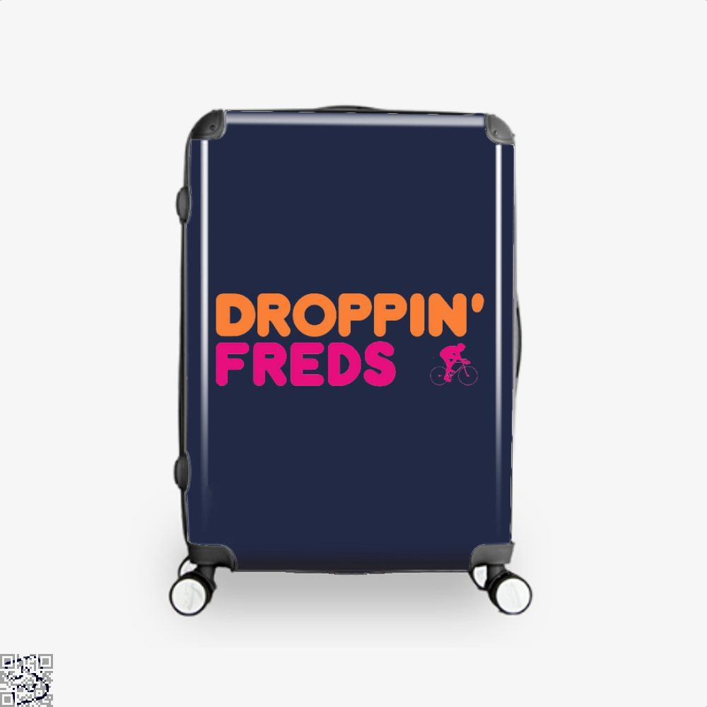 Droppin Freds Doughnuts Suitcase - Blue / 16 - Productgenapi