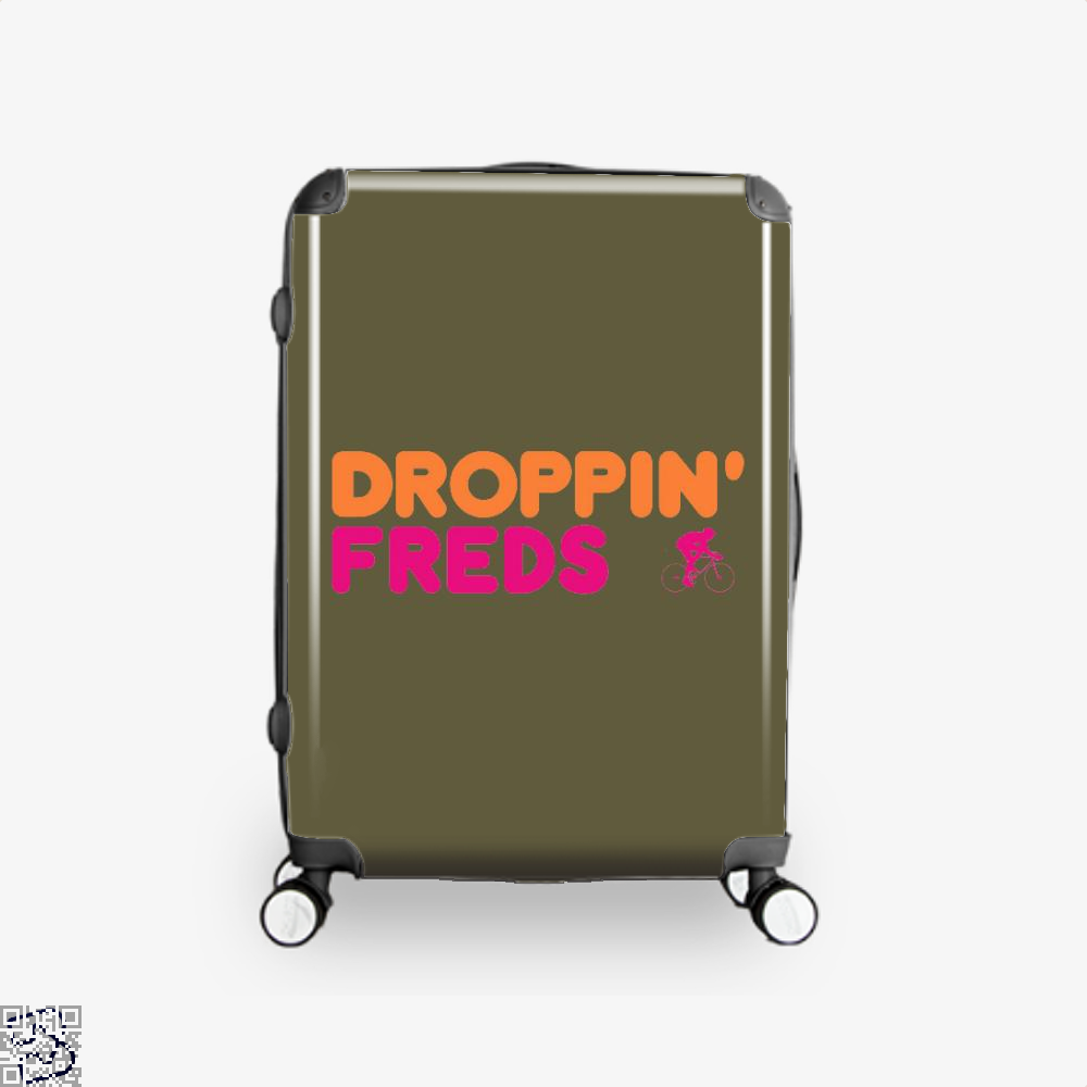 Droppin Freds Doughnuts Suitcase - Brown / 16 - Productgenapi