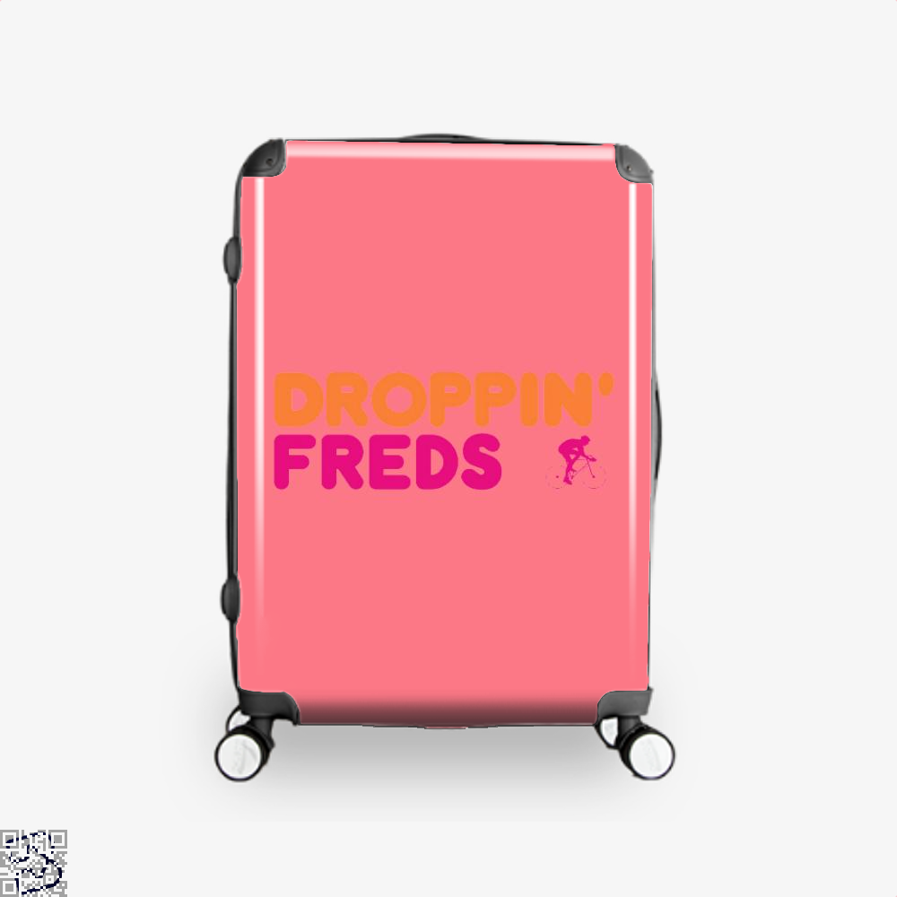 Droppin Freds Doughnuts Suitcase - Pink / 16 - Productgenapi