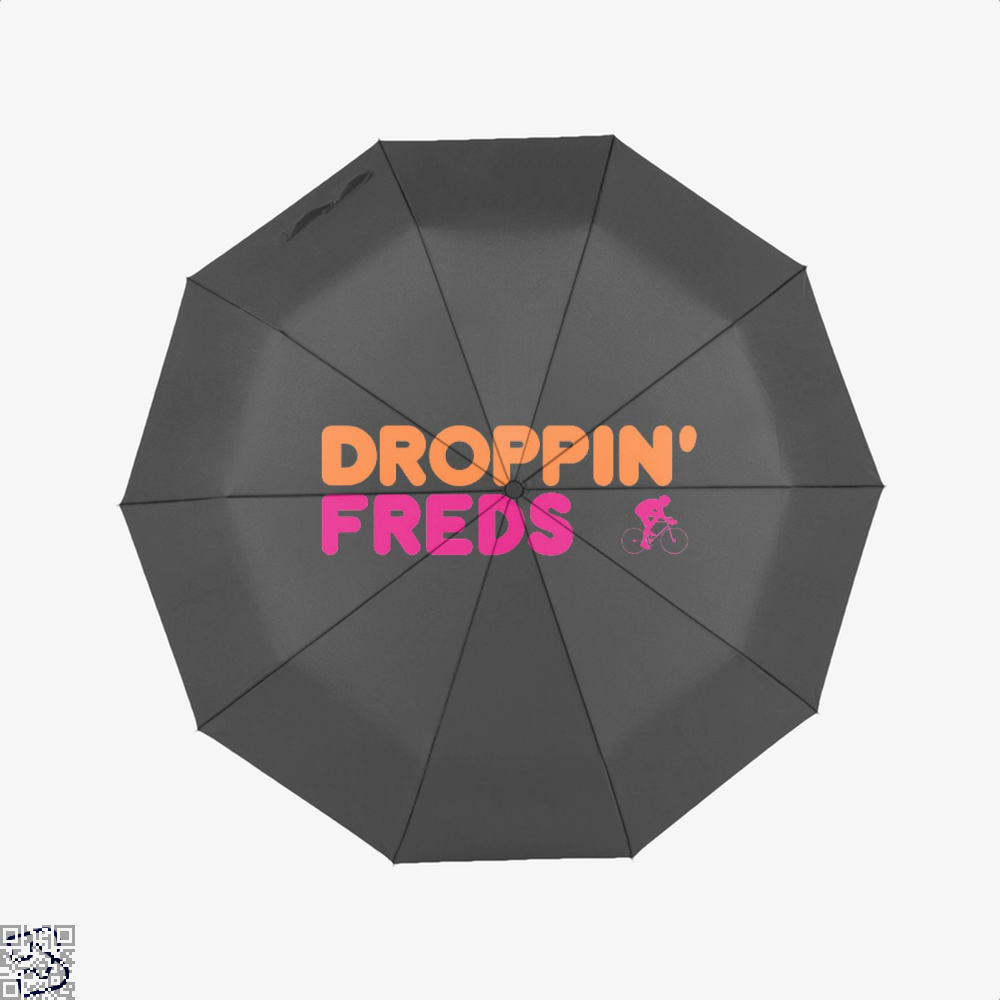 Droppin Freds Doughnuts Umbrella - Black - Productgenapi