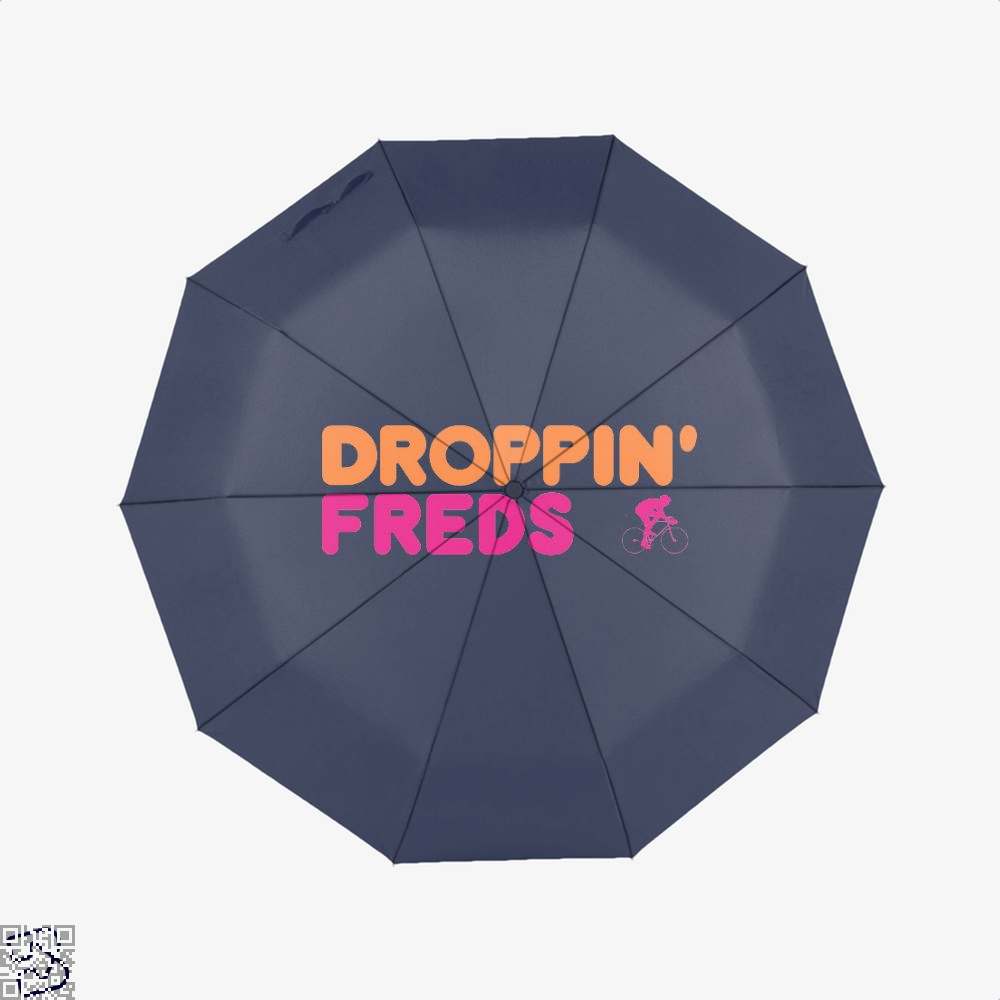 Droppin Freds Doughnuts Umbrella - Blue - Productgenapi