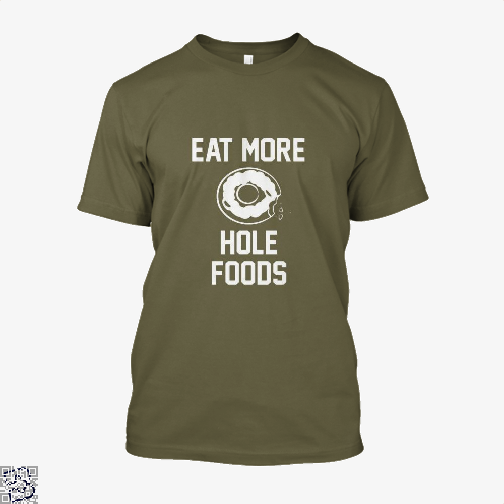 Eat More Hole Food Donut Lover Doughnuts Shirt - Men / Brown / X-Small - Productgenapi