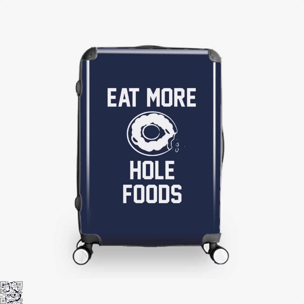 Eat More Hole Food Donut Lover Doughnuts Suitcase - Blue / 16 - Productgenapi