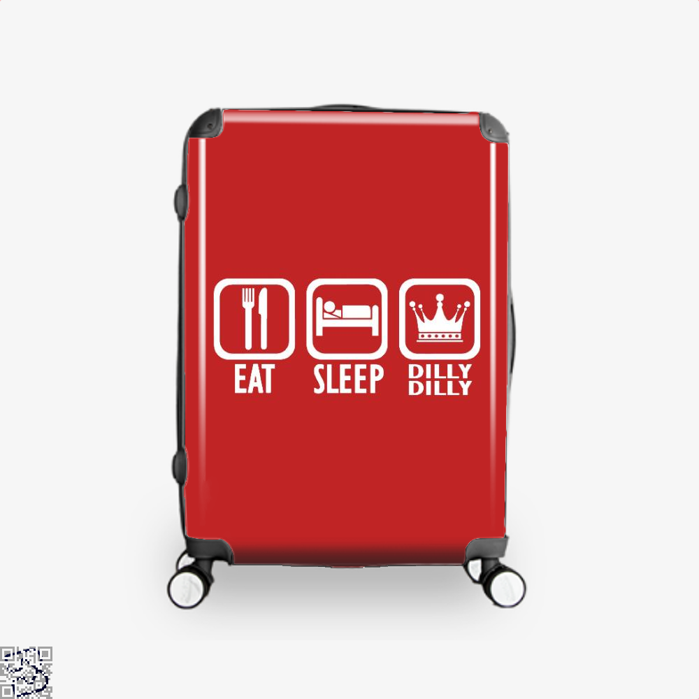 Eat Sleep Dilly Dilly Dilly Dilly Suitcase - Red / 16 - Productgenapi