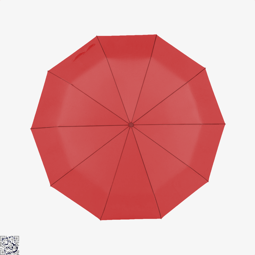 Eat Sleep Quilt Repeat Sewing Umbrella - Red - Productgenjpg