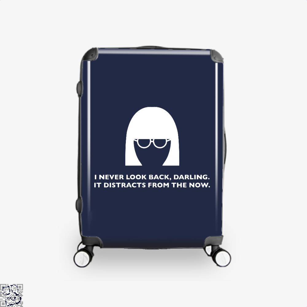 Edna Mode Incredibles Suitcase - Blue / 16 - Productgenapi