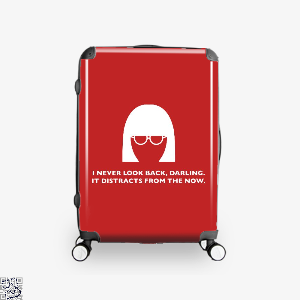 Edna Mode Incredibles Suitcase - Red / 16 - Productgenapi