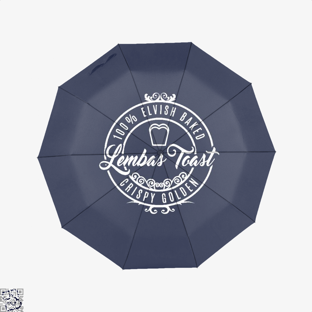 Elven Lembas Toast Lord Of The Rings Umbrella - Blue - Productgenapi