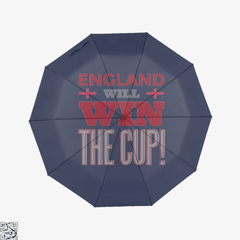England Will Win The Cup Fifa World Umbrella - Blue - Productgenapi