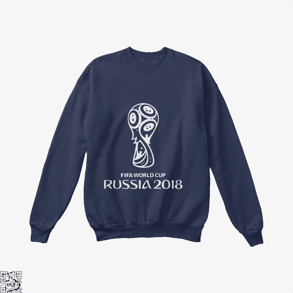 Fifa World Cup Russia 2018 Crew Neck Sweatshirt - Blue / X-Small - Productgenapi