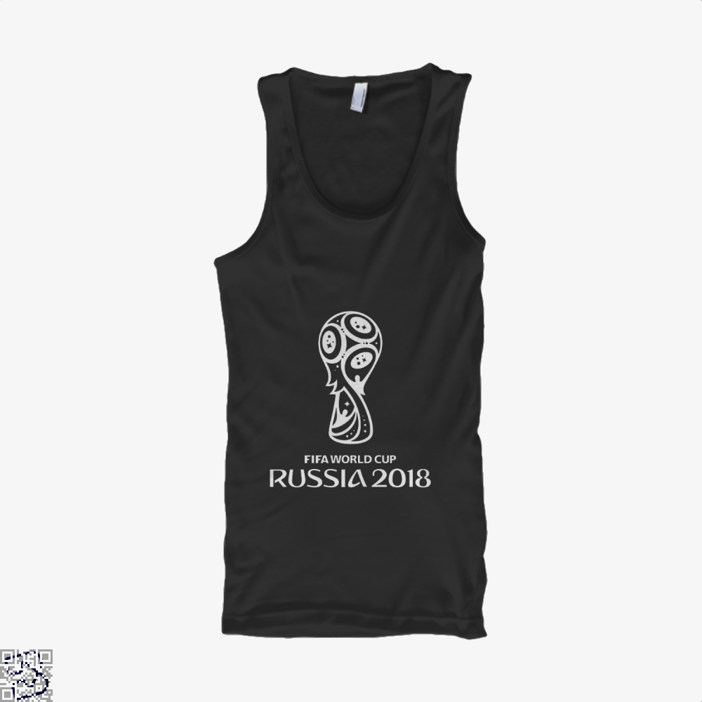Fifa World Cup Russia 2018 Tank Top - Women / Black / Small - Productgenapi