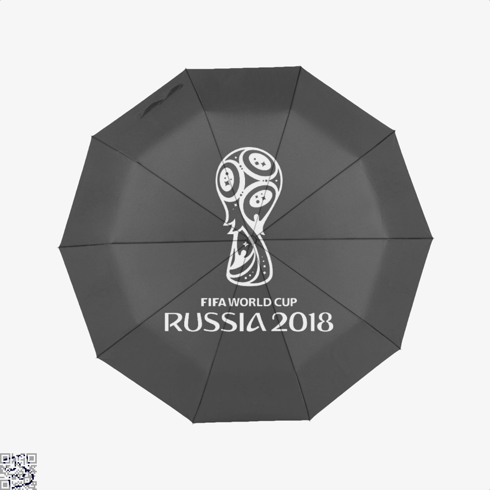 Fifa World Cup Russia 2018 Umbrella - Black - Productgenapi
