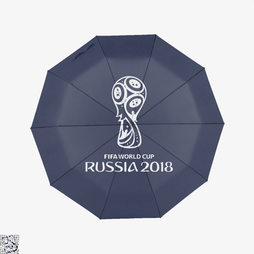 Fifa World Cup Russia 2018 Umbrella - Blue - Productgenapi