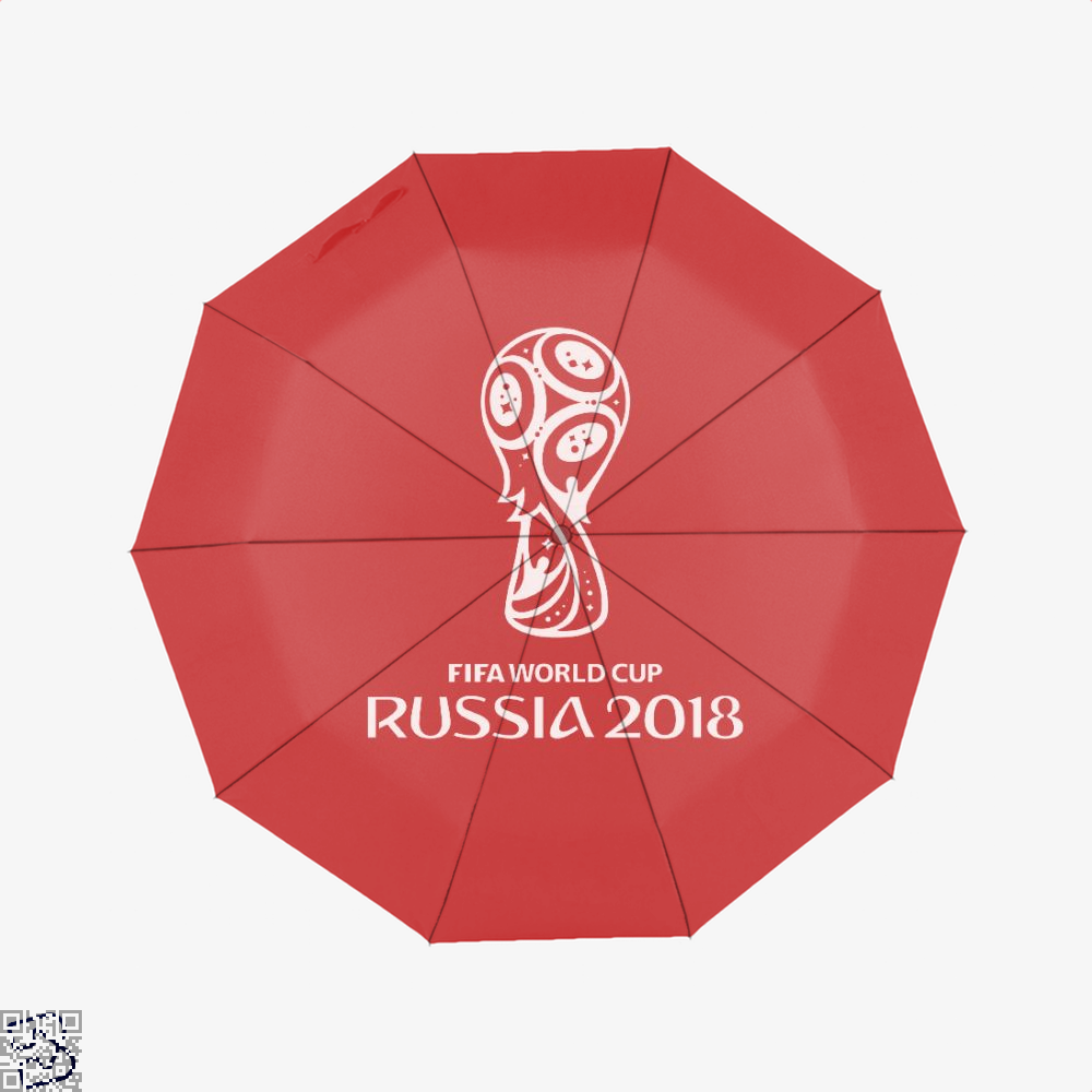 Fifa World Cup Russia 2018 Umbrella - Red - Productgenapi