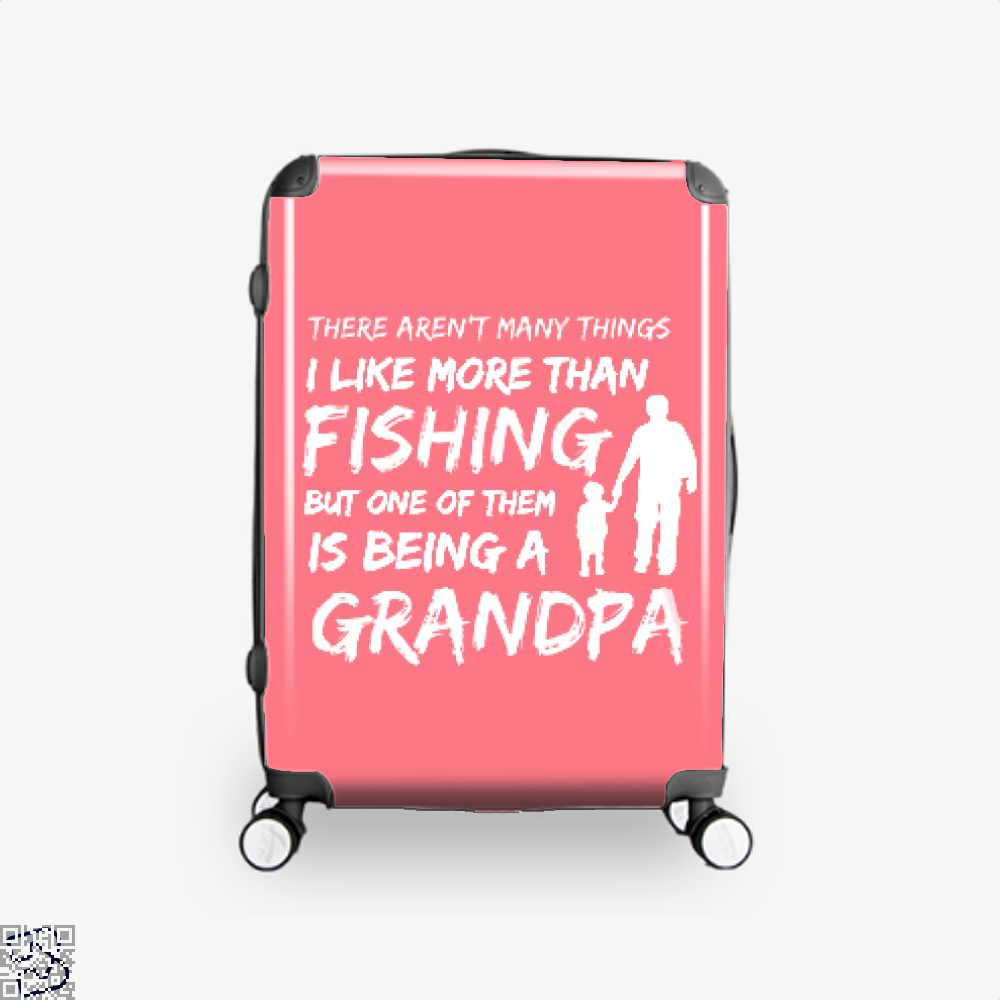 Fishing And Being A Grandpa Suitcase - Pink / 16 - Productgenjpg