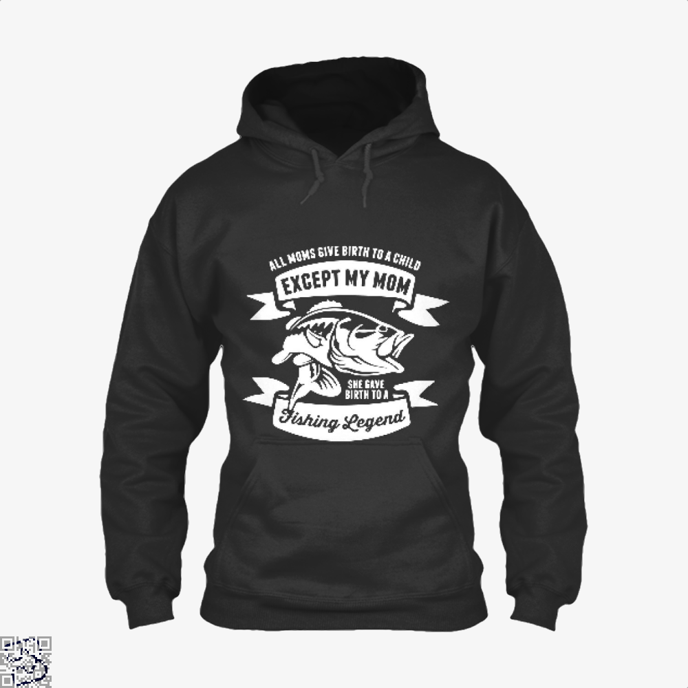 Fishing Legend Hoodie - Black / X-Small - Productgenjpg