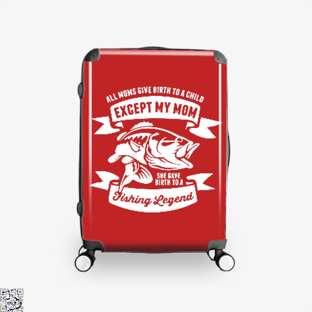 Fishing Legend Suitcase - Red / 16 - Productgenjpg