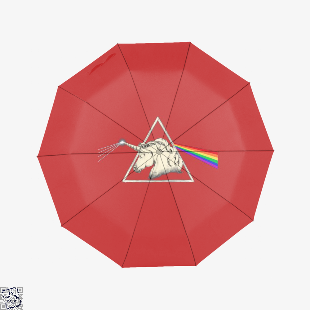 Flare Horse Umbrella - Red - Productgenjpg