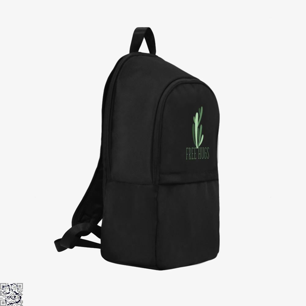 Free Hugs Cactus Satirical Backpack - Productgenapi