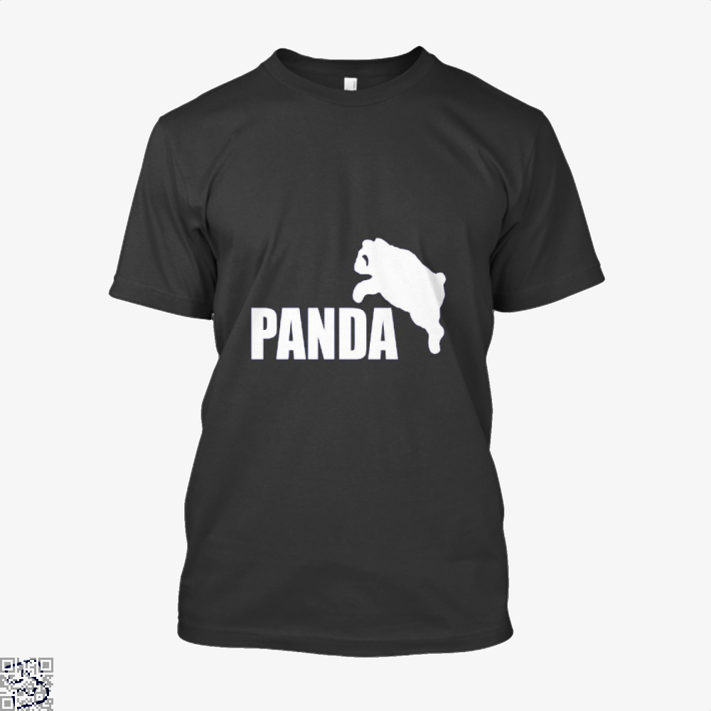 Funny Panda Bear Shirt - Men / Black / X-Small - Productgenjpg