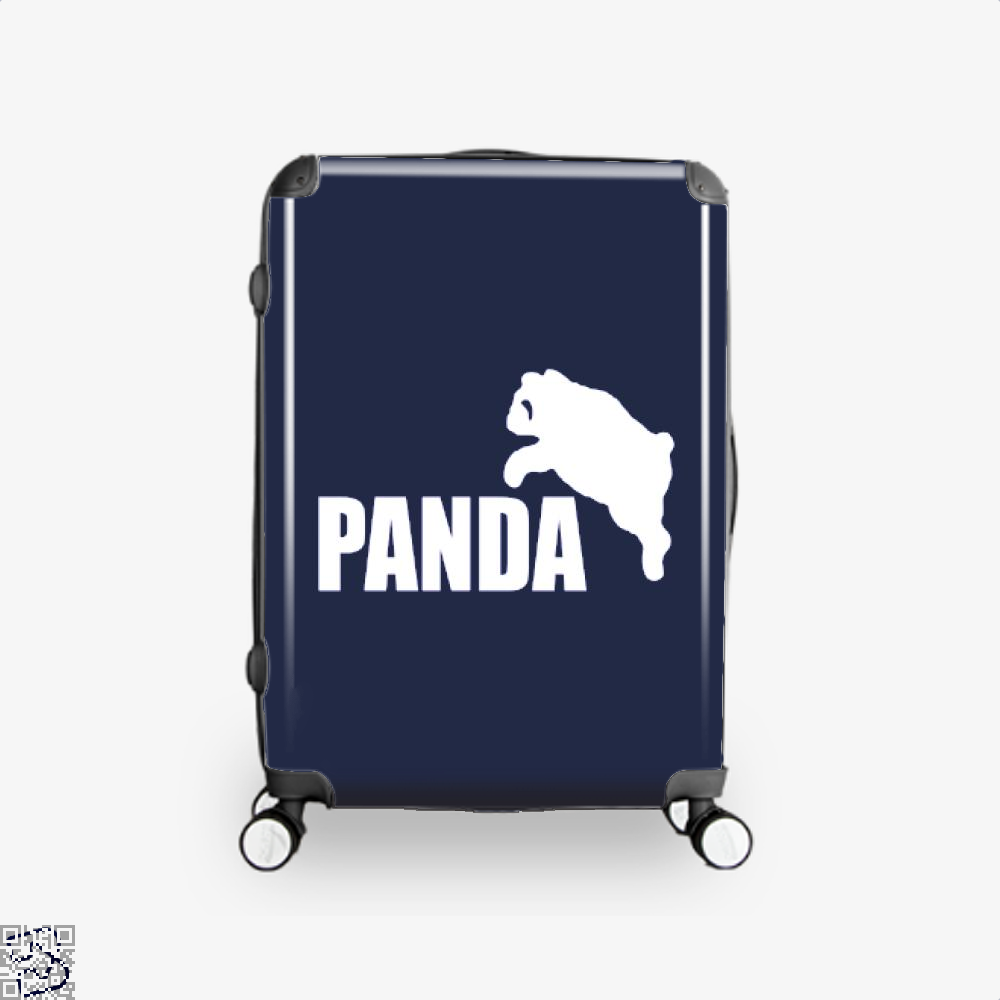 Funny Panda Bear Suitcase - Blue / 16 - Productgenjpg