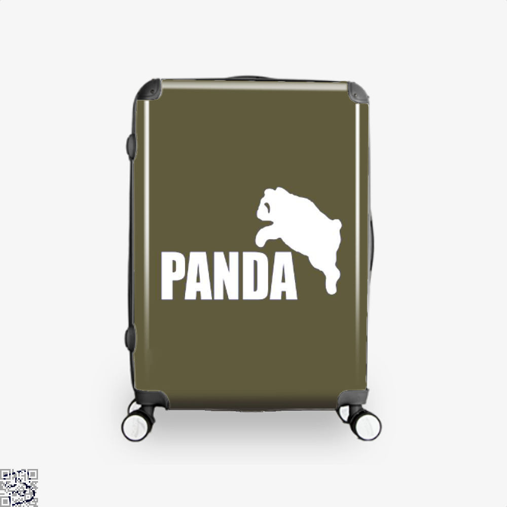 Funny Panda Bear Suitcase - Brown / 16 - Productgenjpg
