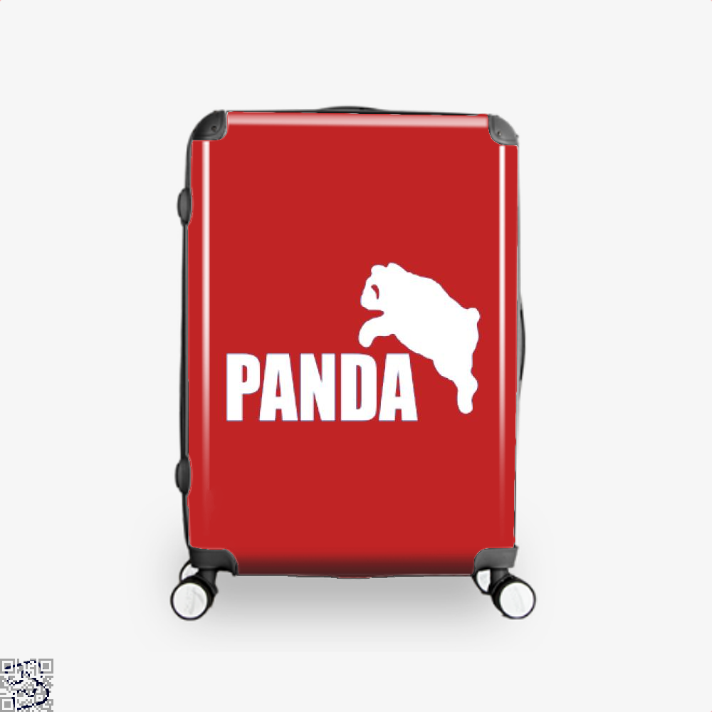 Funny Panda Bear Suitcase - Red / 16 - Productgenjpg