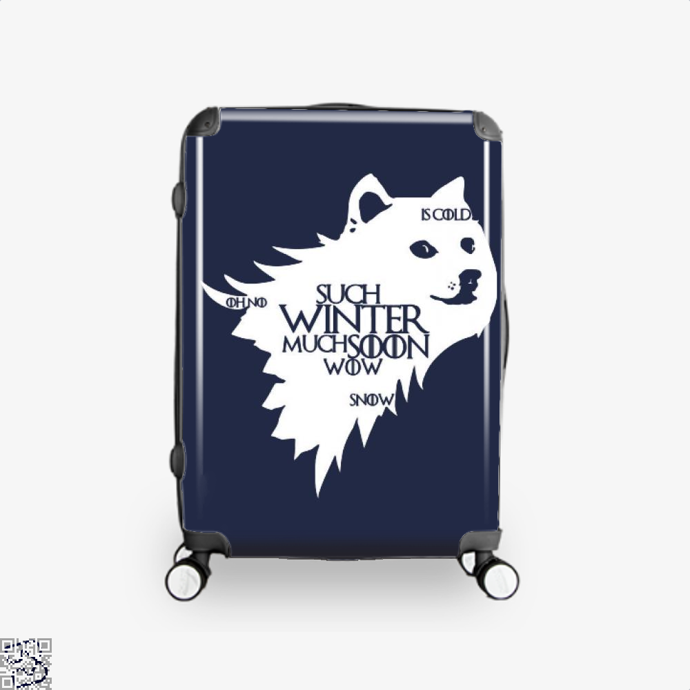 Game Of Thrones Doge Such Winter Much Soon Wow Of Suitcase - Blue / 16 - Productgenjpg