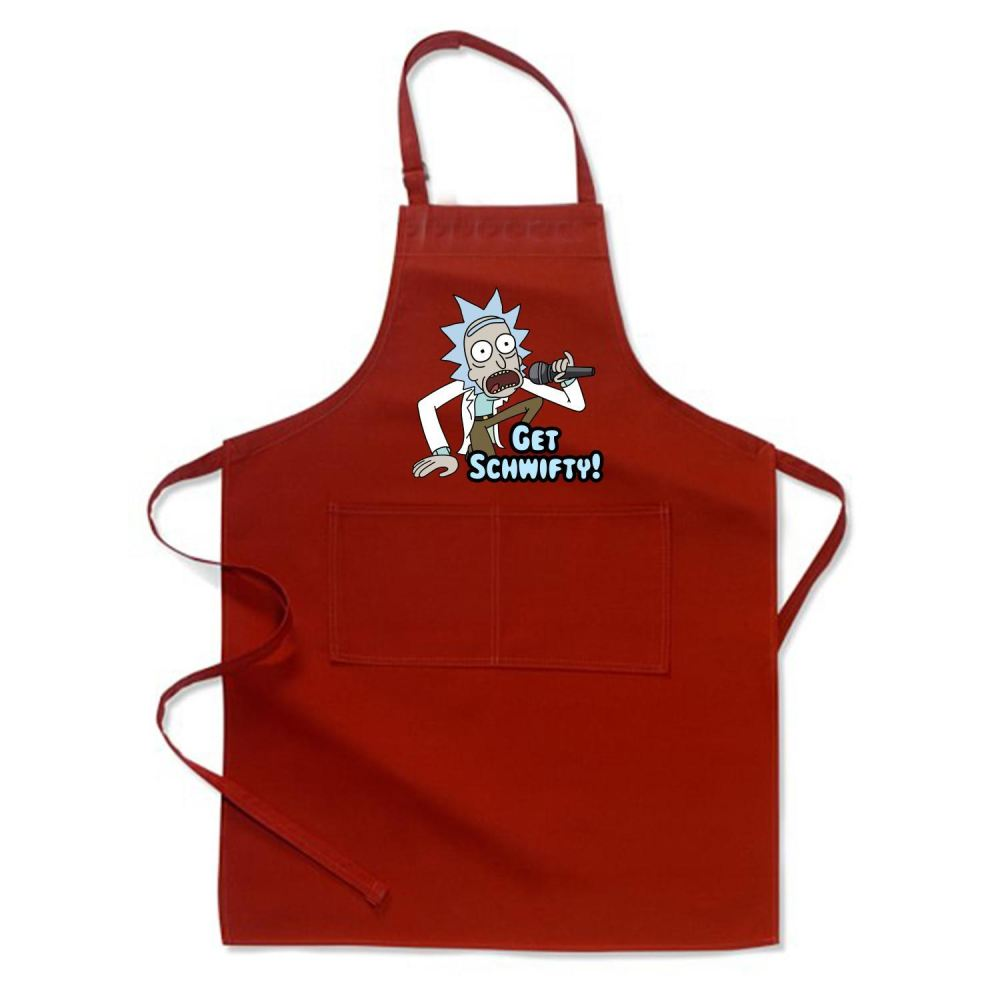 Get Schwifty Rick And Morty Apron - Productgenjpg