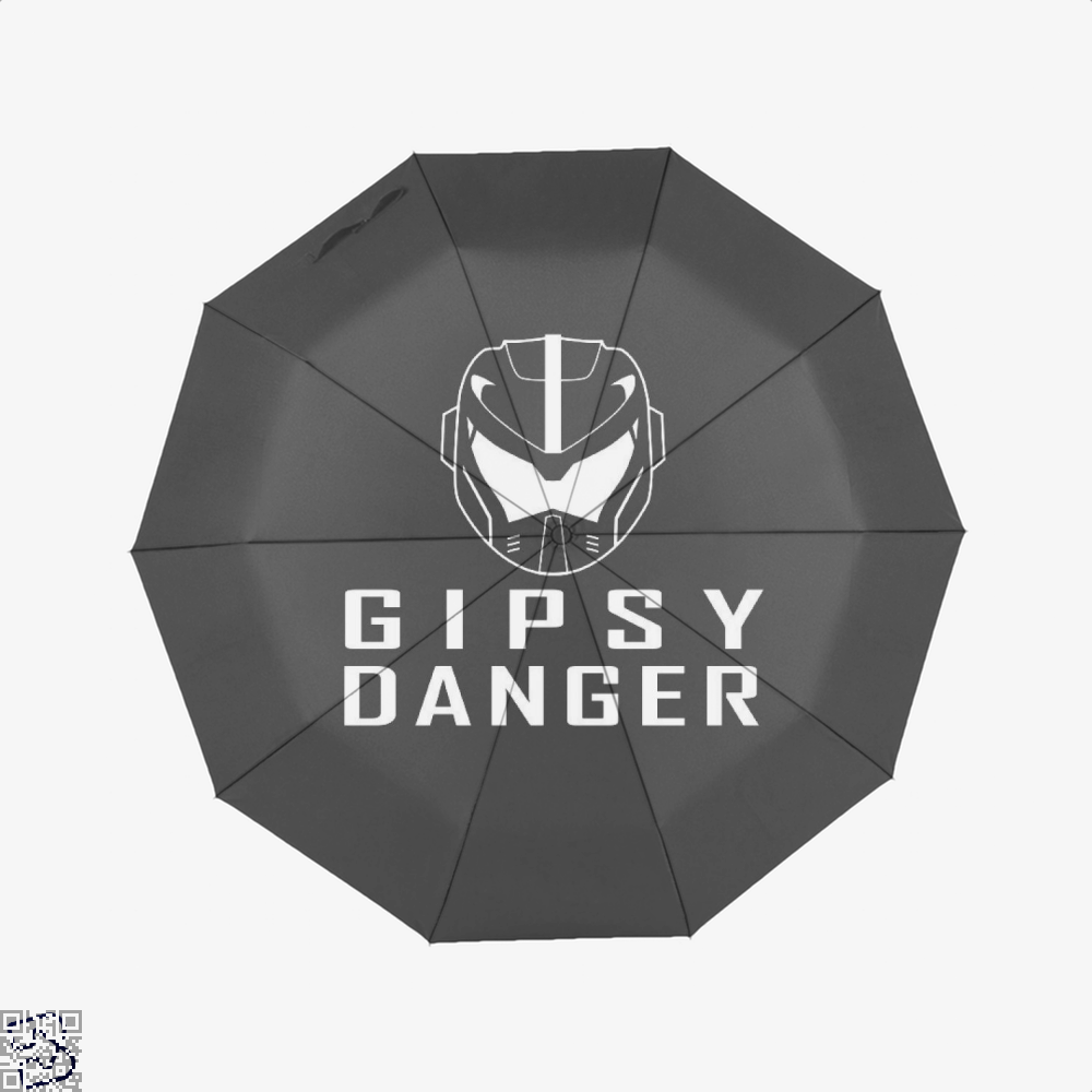Gipsy Danger Gundam Umbrella - Black - Productgenjpg