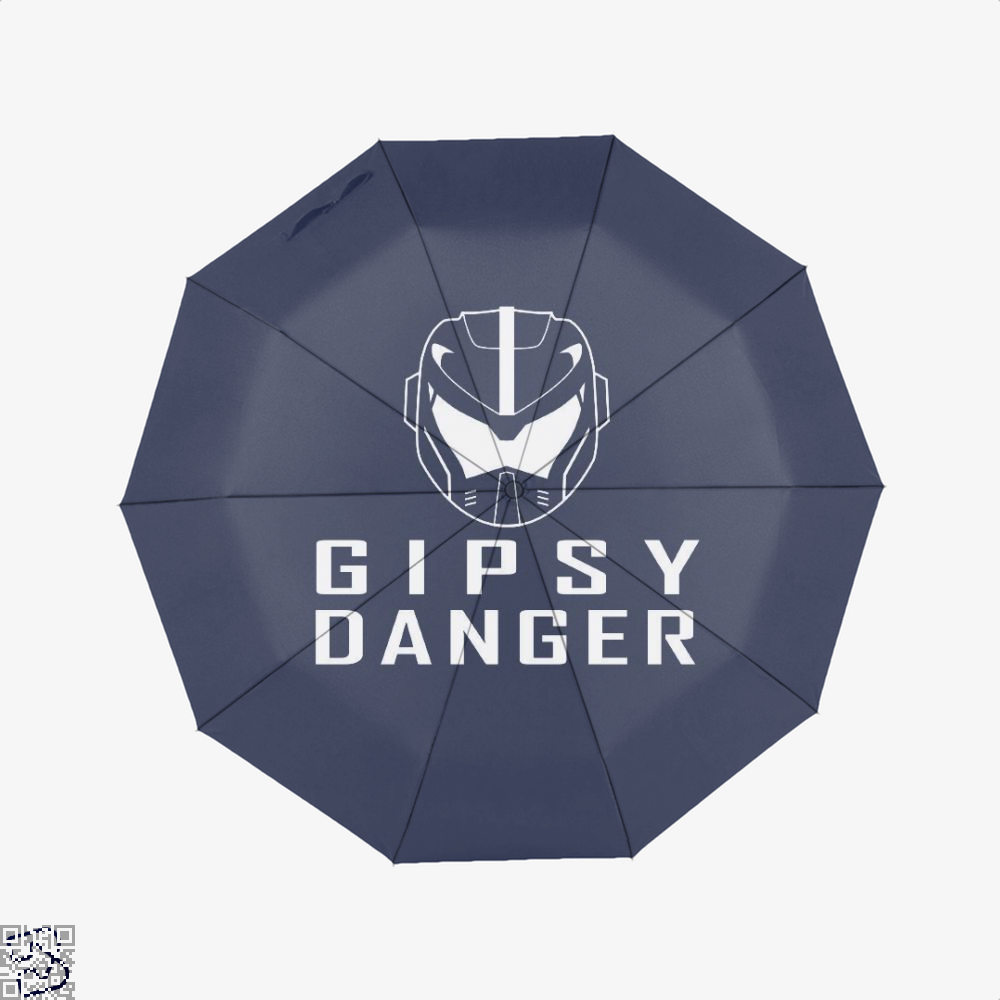 Gipsy Danger Gundam Umbrella - Blue - Productgenjpg