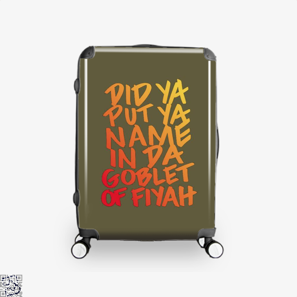 Goblet Of Fiyah Harry Potter Suitcase - Brown / 16 - Productgenjpg