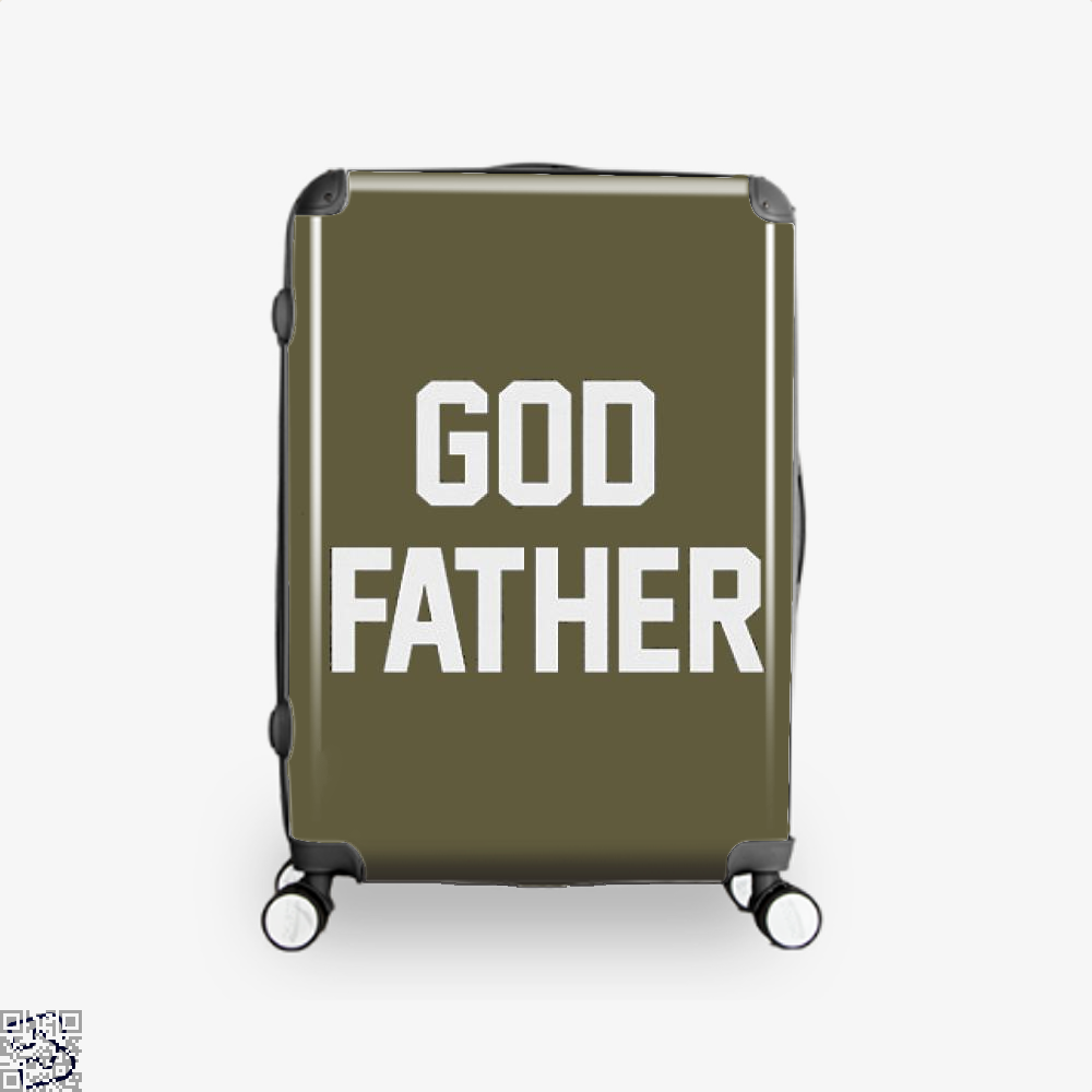 God Father Epigrammatic Suitcase - Brown / 16 - Productgenjpg