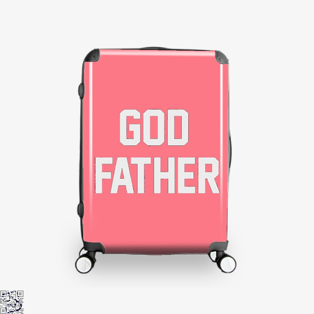 God Father Epigrammatic Suitcase - Pink / 16 - Productgenjpg