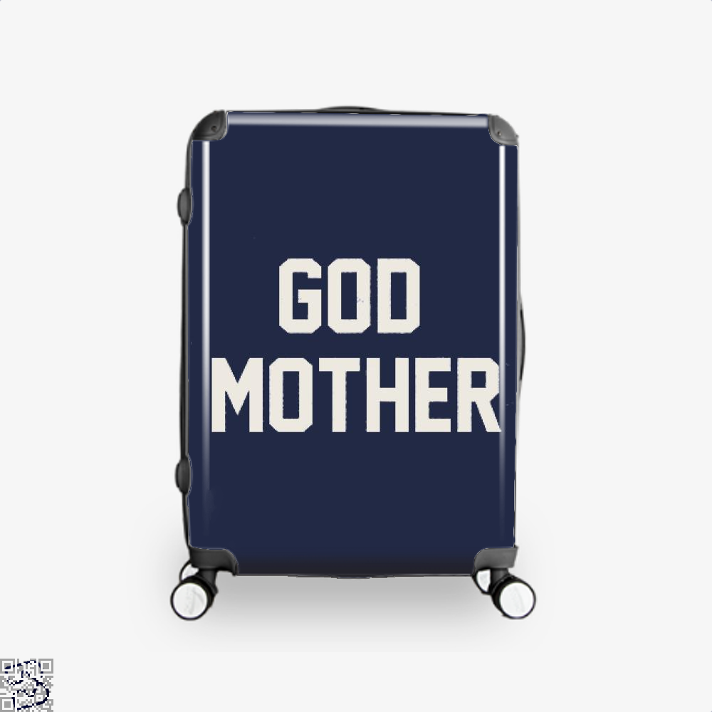 God Mother Epigrammatic Suitcase - Blue / 16 - Productgenjpg