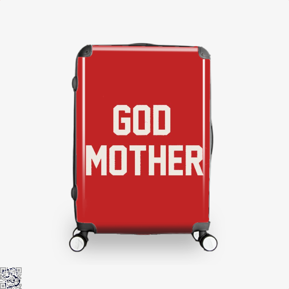 God Mother Epigrammatic Suitcase - Red / 16 - Productgenjpg