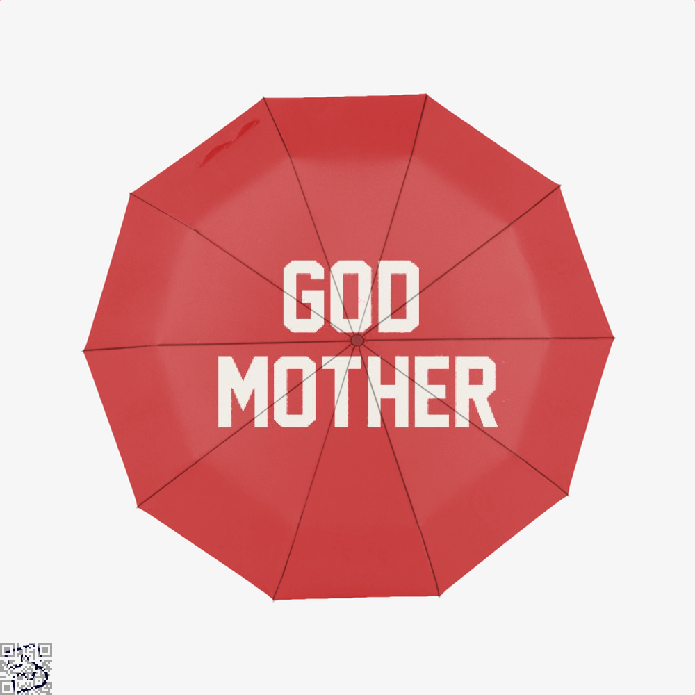 God Mother Epigrammatic Umbrella - Red - Productgenjpg