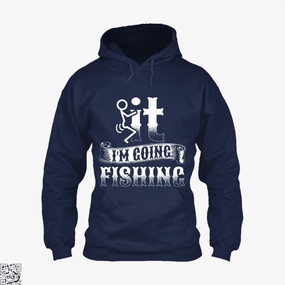 Going Fishing Hoodie - Blue / X-Small - Productgenjpg