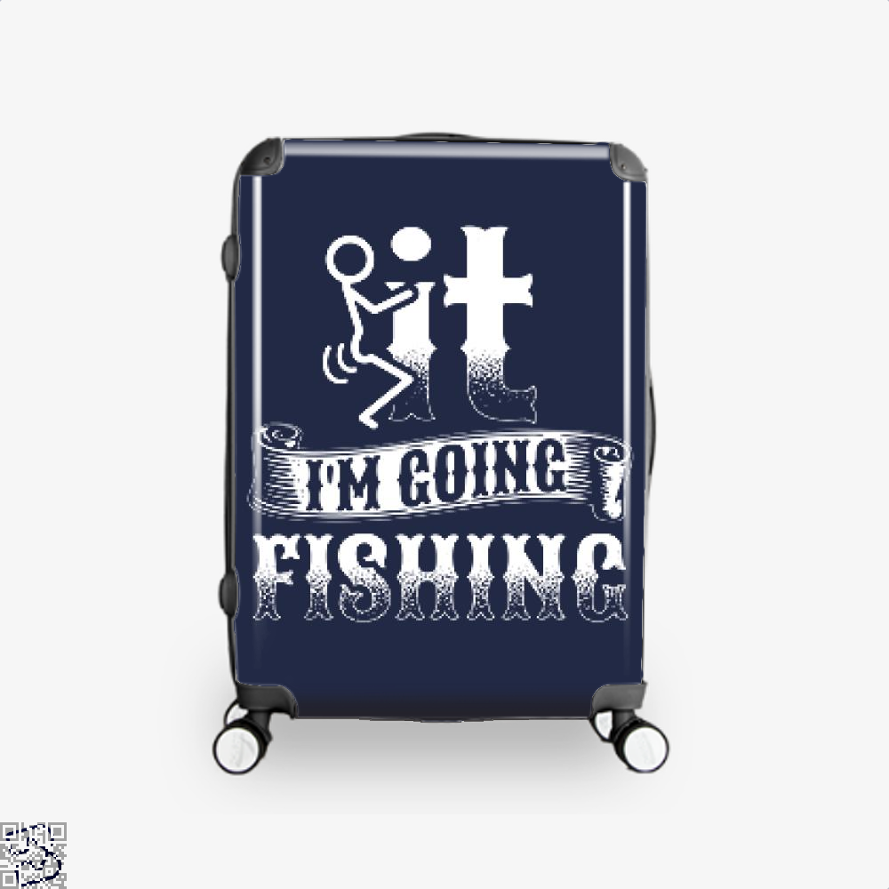 Going Fishing Suitcase - Blue / 16 - Productgenjpg