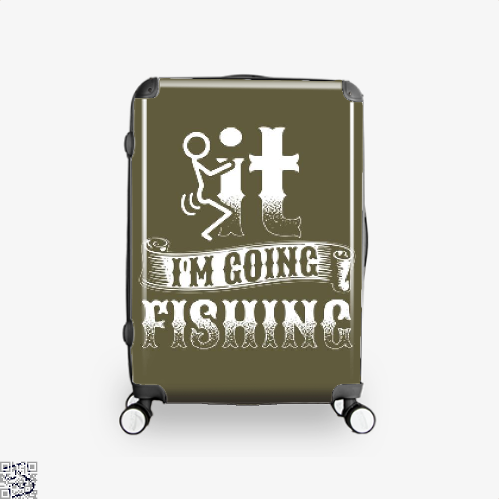 Going Fishing Suitcase - Brown / 16 - Productgenjpg