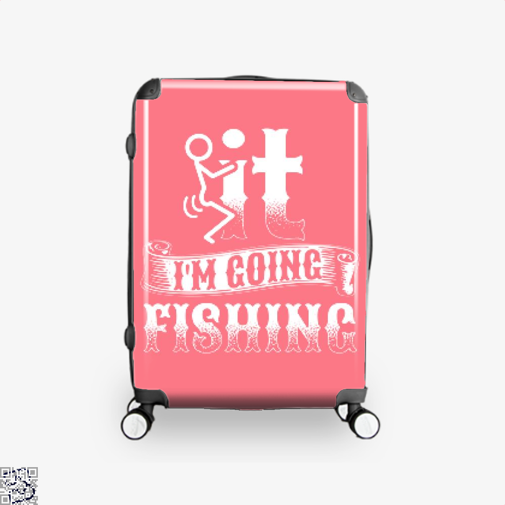 Going Fishing Suitcase - Pink / 16 - Productgenjpg