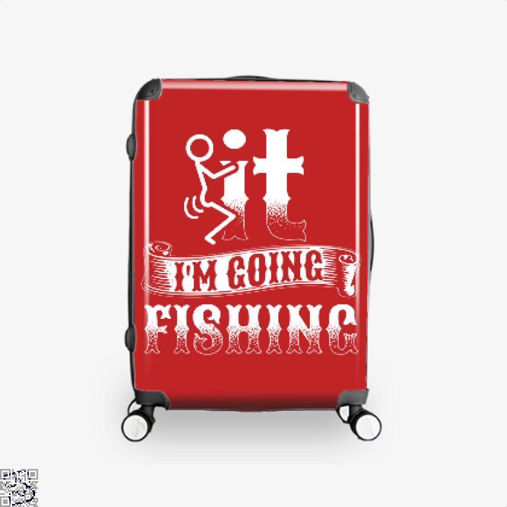 Going Fishing Suitcase - Red / 16 - Productgenjpg