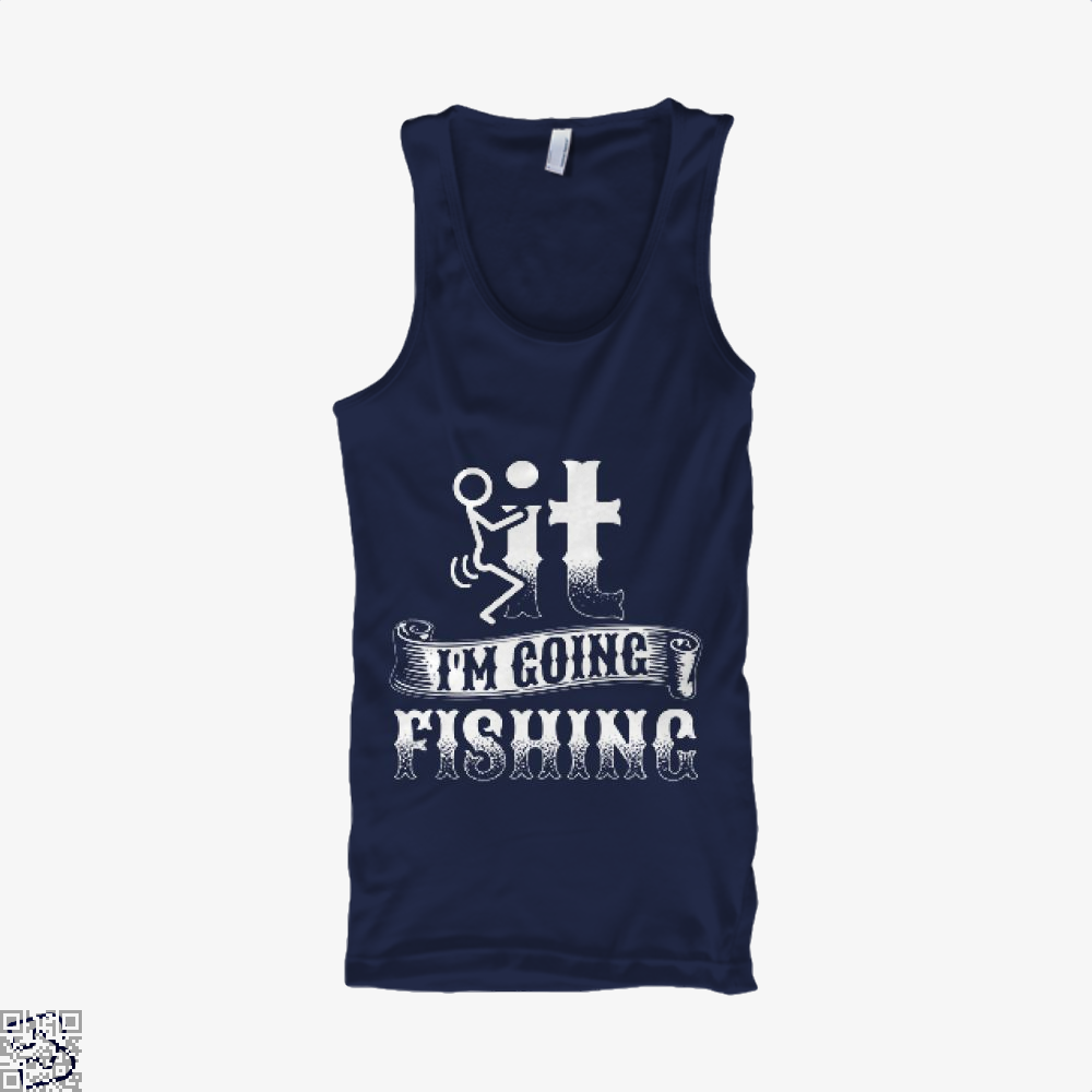 Going Fishing Tank Top - Men / Blue / X-Small - Productgenjpg