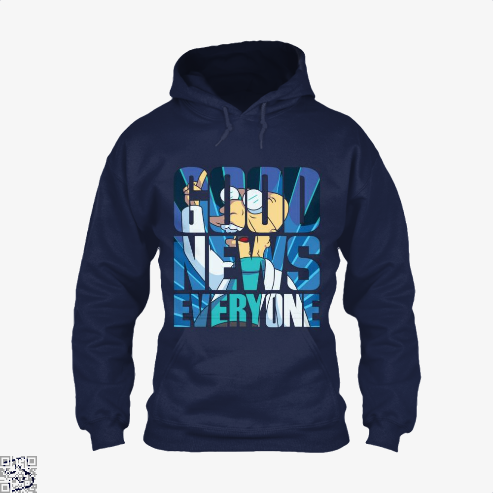 Good News Everyone The Simpsons Hoodie - Blue / X-Small - Productgenapi