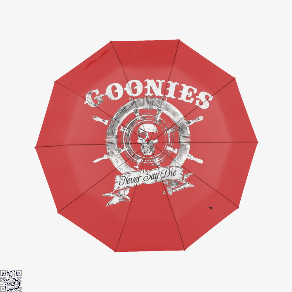 Goonies Never Say Die Pirate Rudder The Umbrella - Red - Productgenjpg